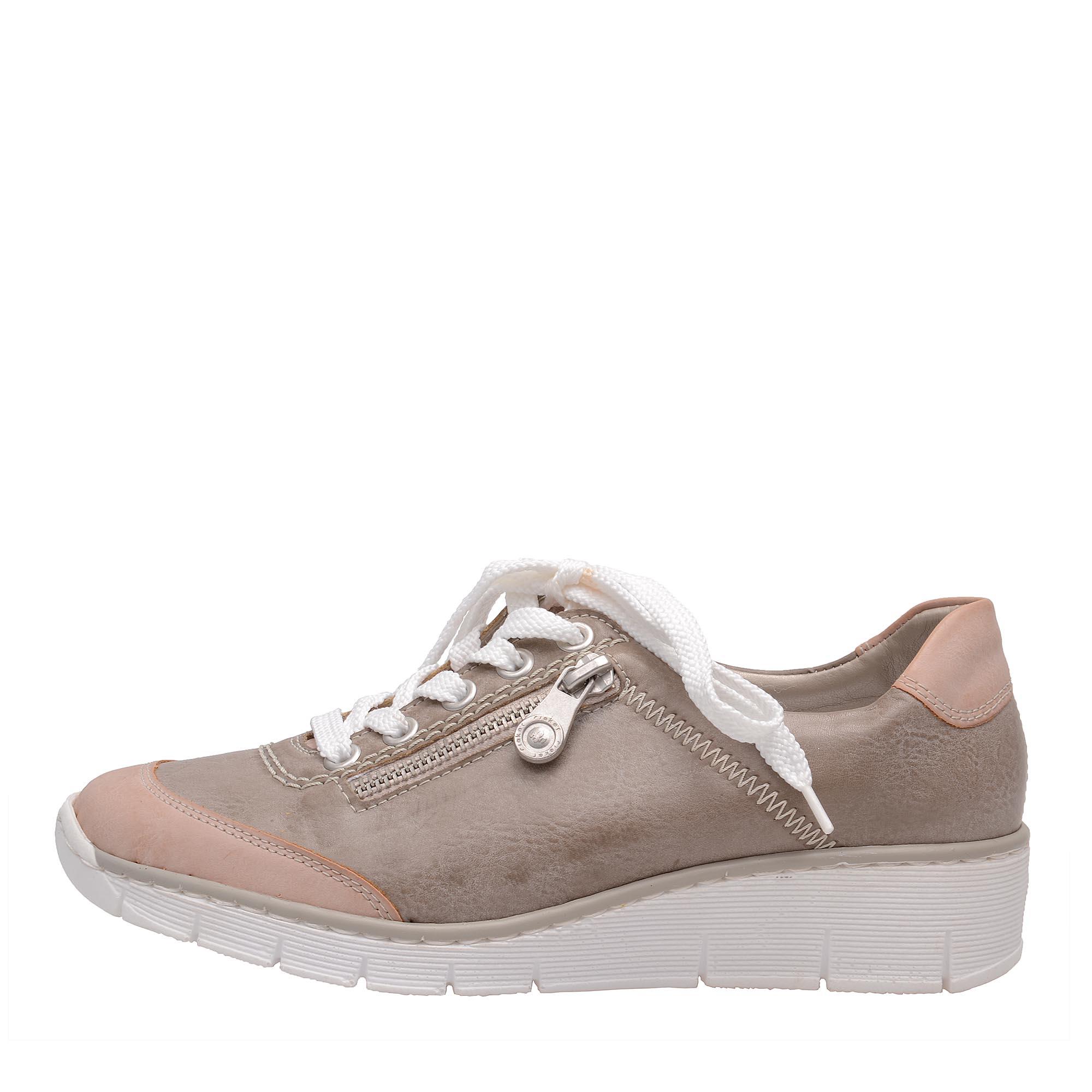 92a4a150e8 detail Dámská obuv RIEKER 53721 32 GRAU KOMBI F S 7