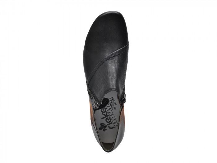 b2fac75aa76 detail Dámská obuv RIEKER br 53861 00 SCHWARZ F S 8