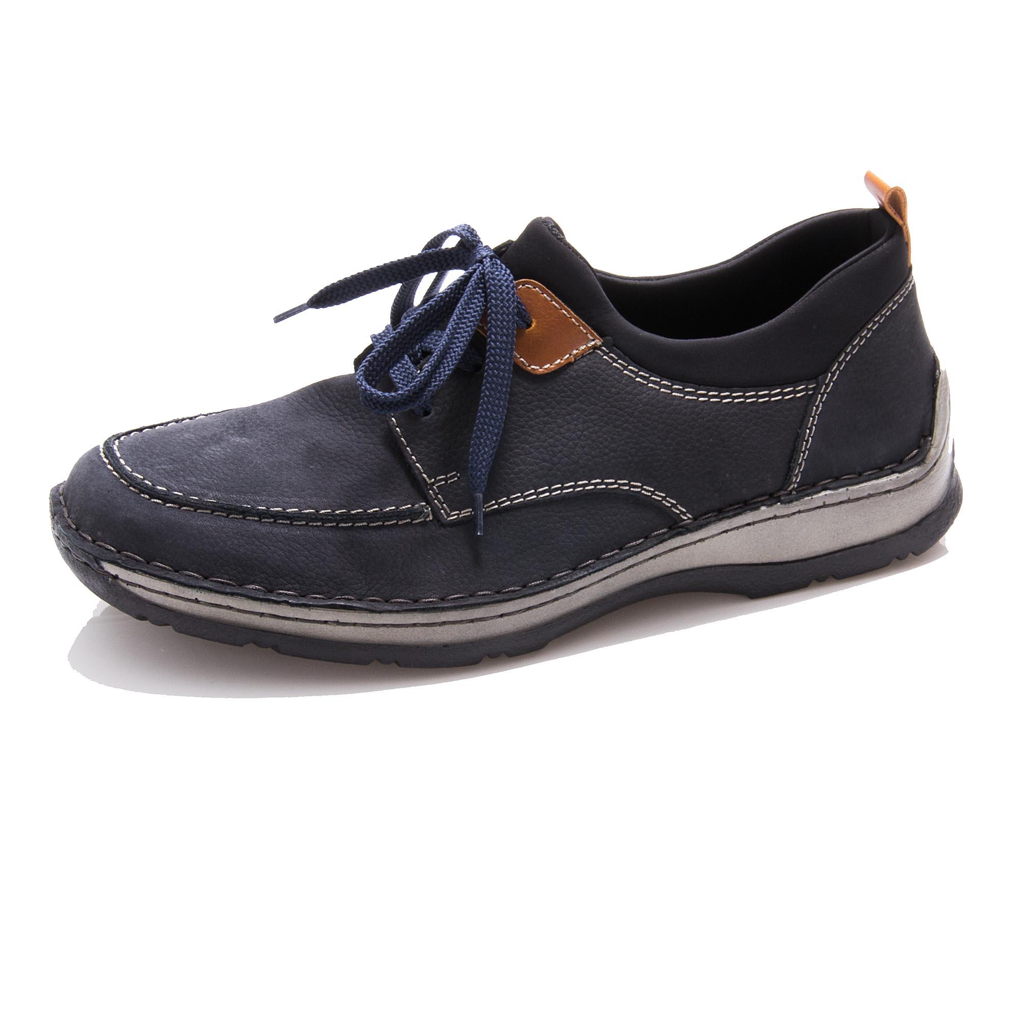 97191c2018 detail Pánská obuv RIEKER 05353-14 BLAU F S 9
