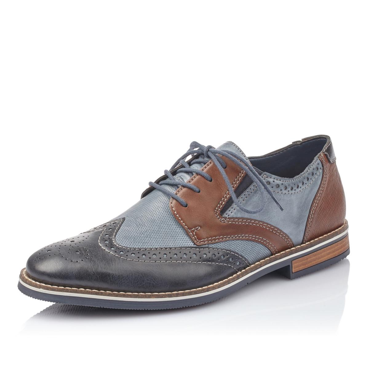 338b1a2412 detail Pánská obuv RIEKER 13520-16 BLAU KOMBI F S 9
