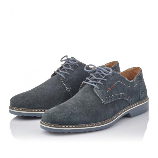 detail Pánská obuv RIEKER br 16501-14 BLAU ... 8a9d9456578