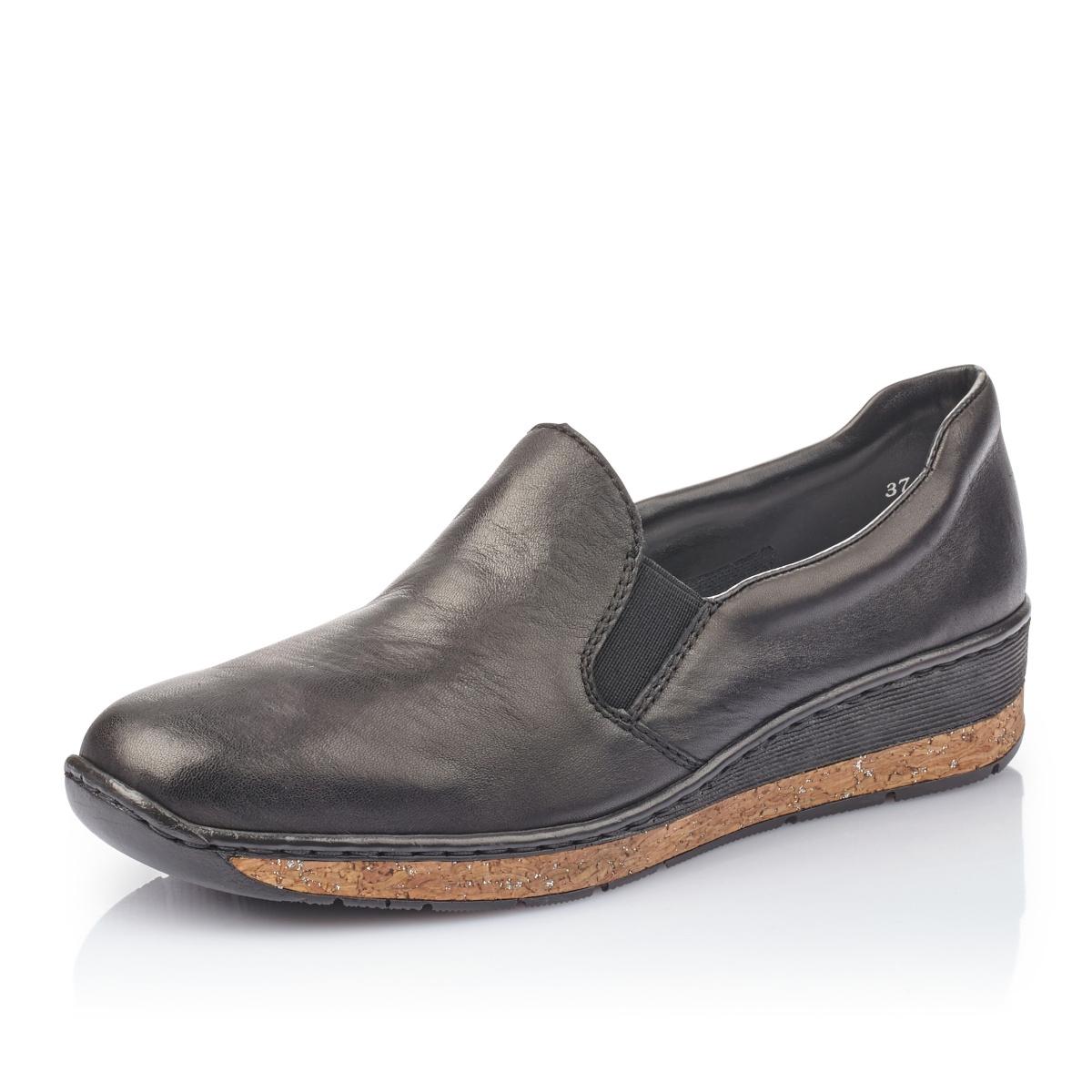 Dámská obuv RIEKER59766-00 SCHWARZ F S 9  0a74c596970