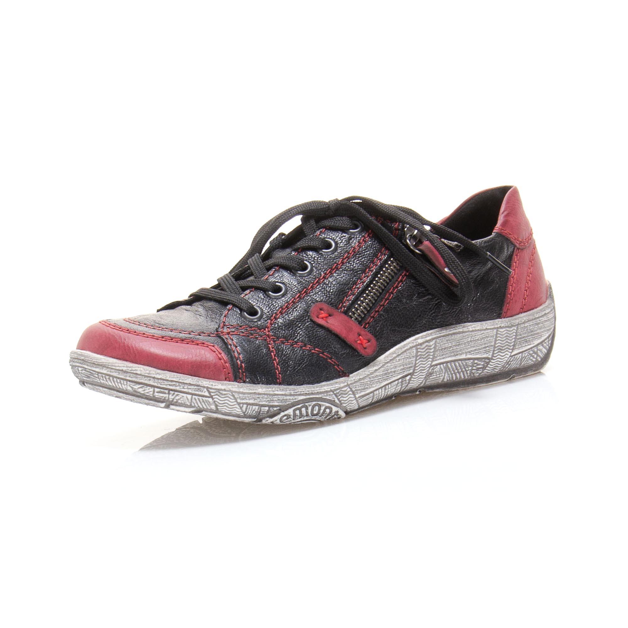 1a9d3c568284 detail Dámská obuv RIEKER - REMONTE br D3808-01 SCHWARZ KOMBI F