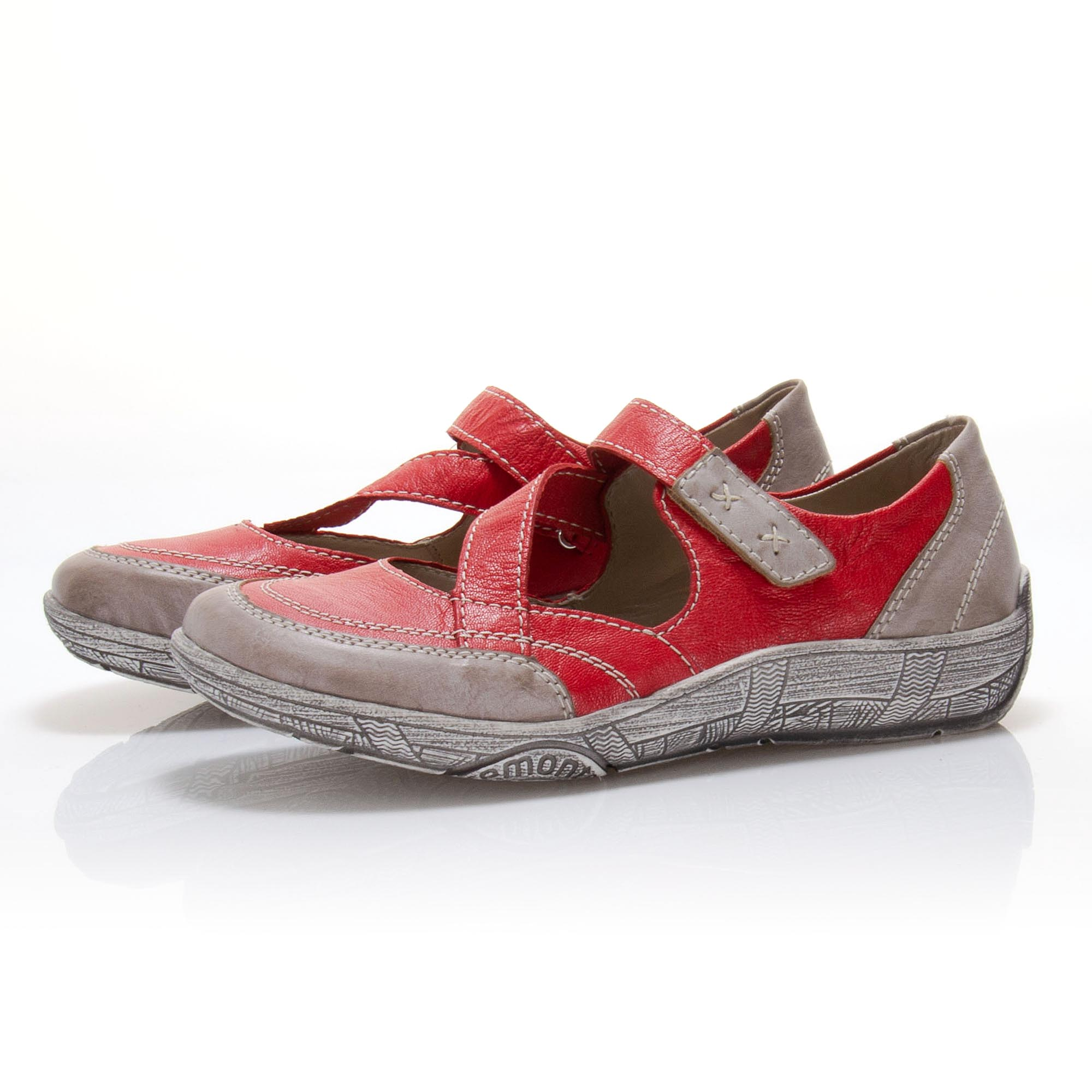 4f0c6dd61fed detail Dámská obuv RIEKER - REMONTE br D3817-33 ROT KOMBI F