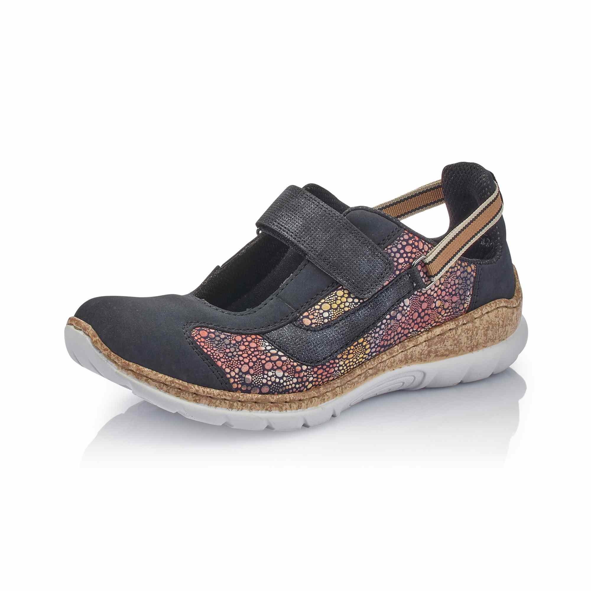 Dámská obuv RIEKERN42R8-14 BLAU KOMBI F S 9  5c48e884fe