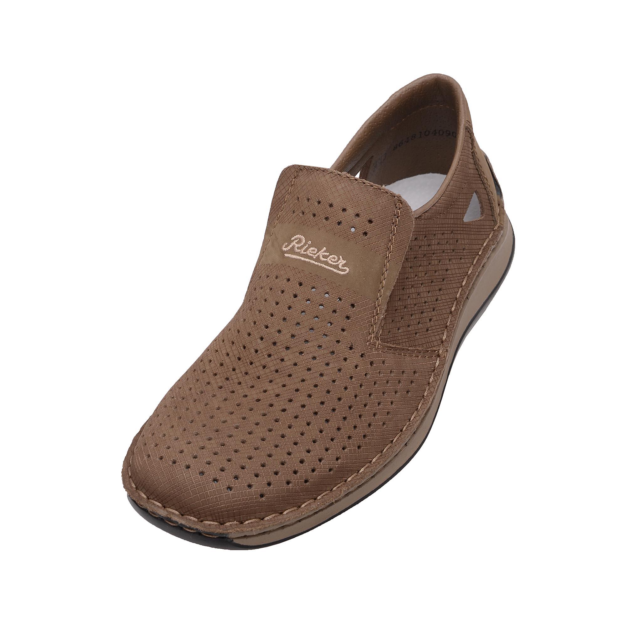 d1e479d477ab detail Pánská obuv RIEKER 05289 64 BEIGE F S 7