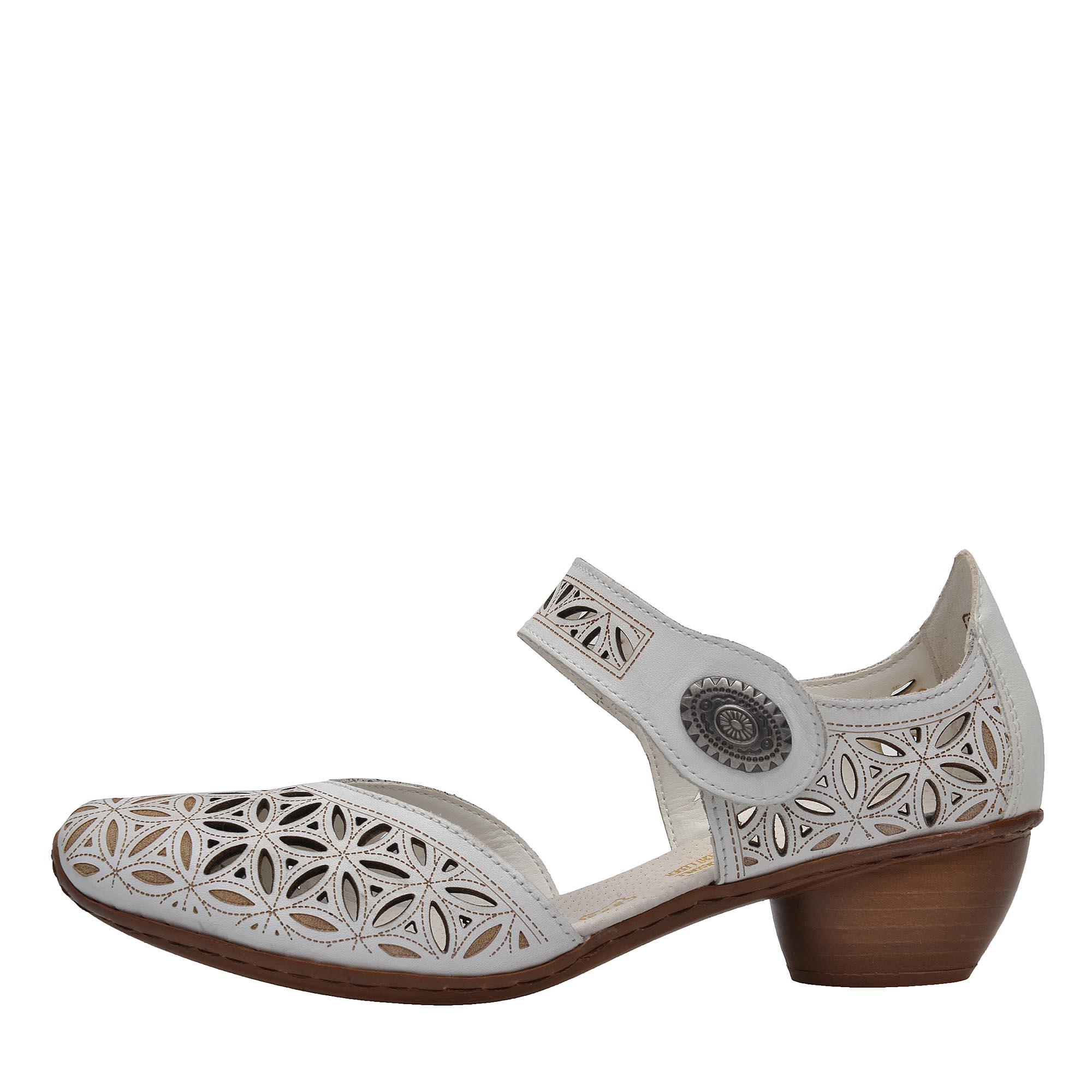 89cba2eab2 detail Dámská obuv RIEKER 43726 80 WEISS F S 8