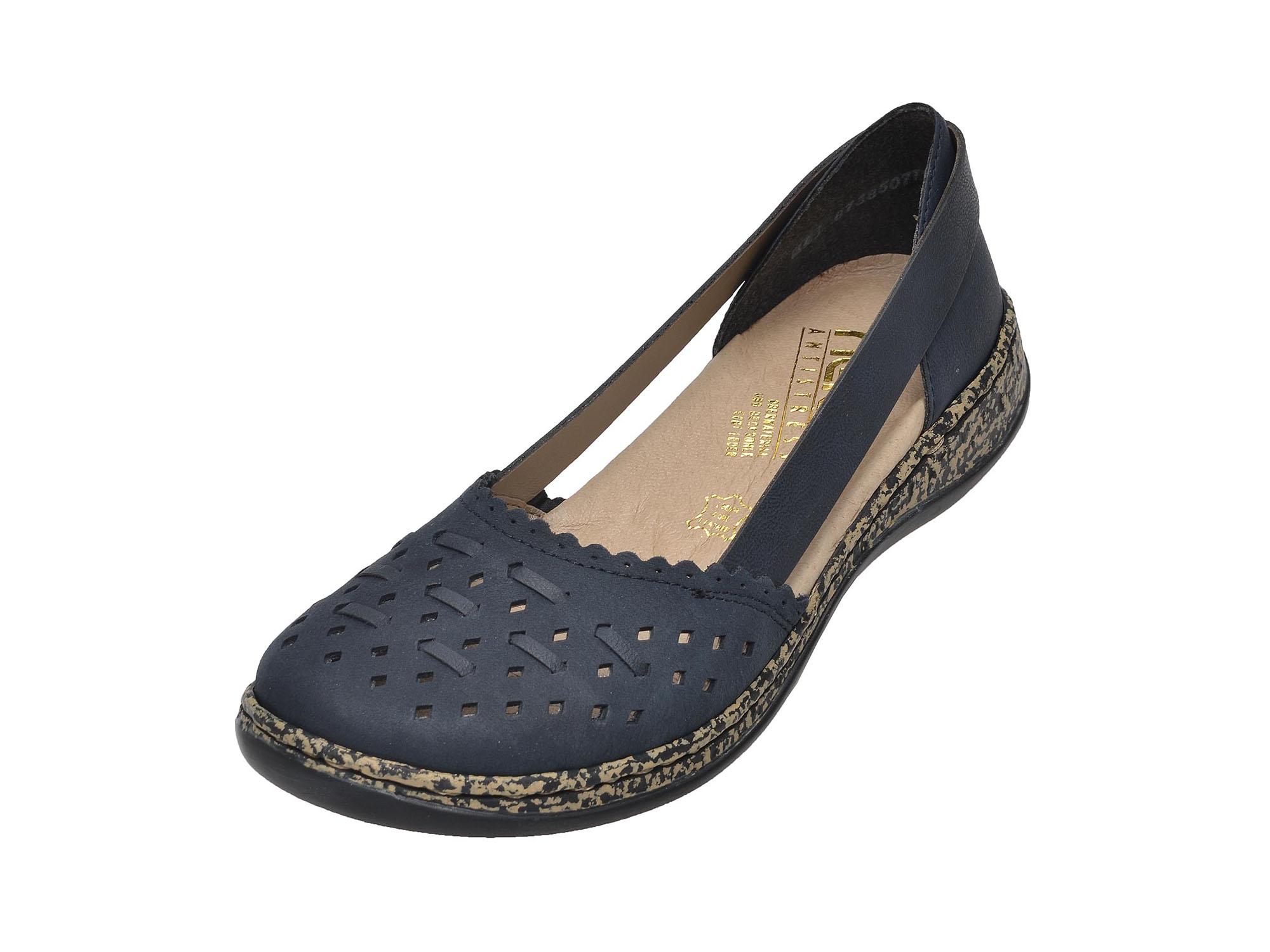 detail Dámská obuv RIEKER 46397 14 BLAU F S 8 f336aa5c412