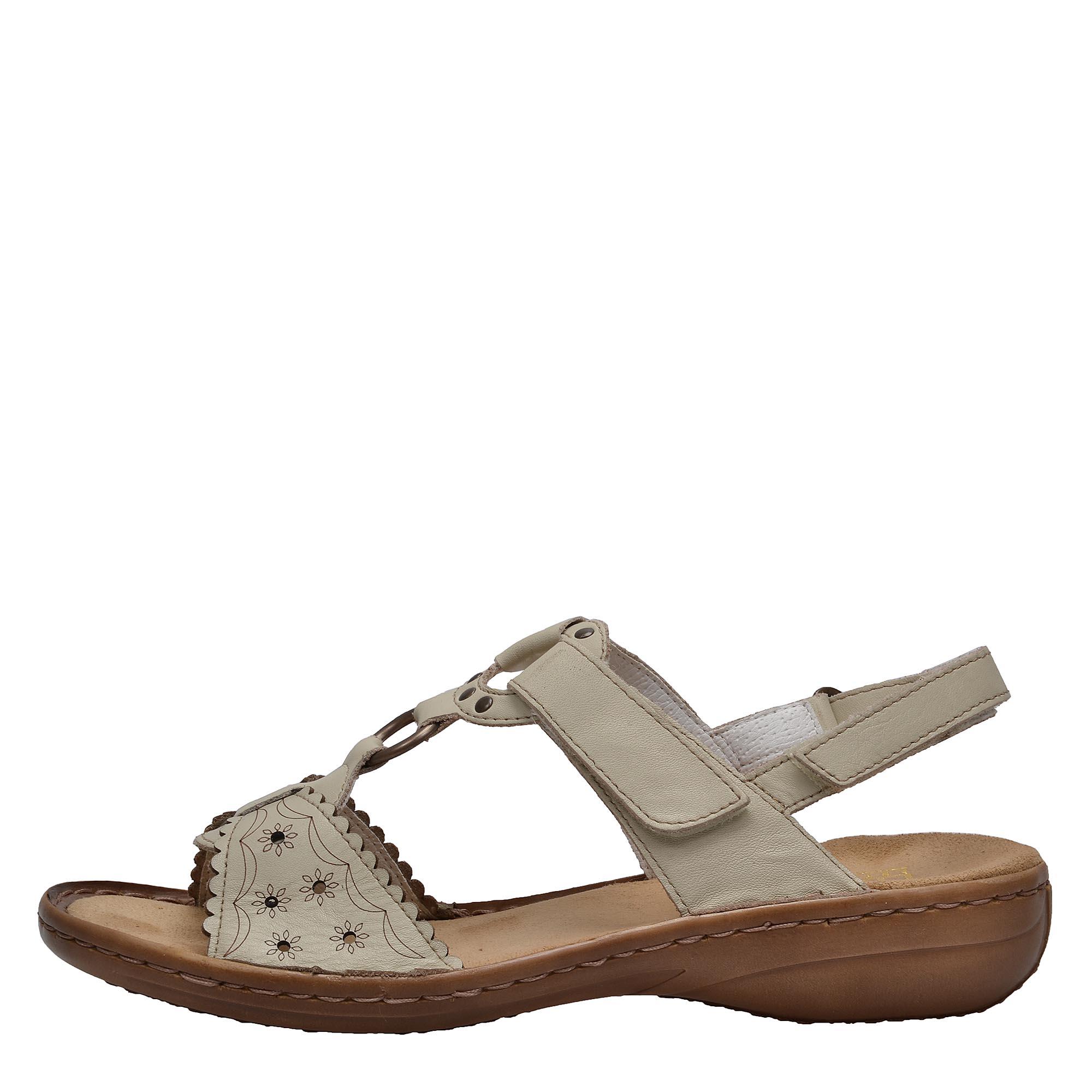 Dámská obuv RIEKER60867 80 WEISS F S 8  49b11e5c8a4