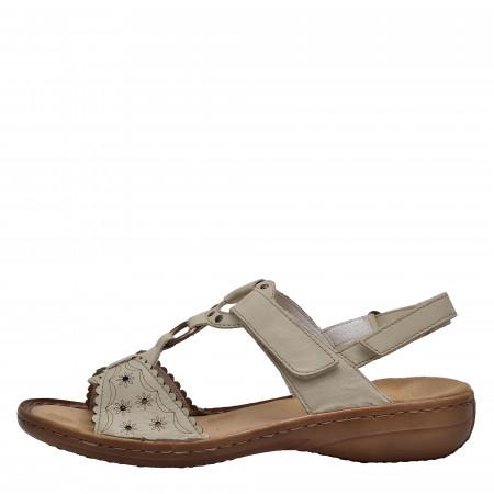ff7739c7206 detail Dámská obuv RIEKER 60867 80 WEISS F S 8