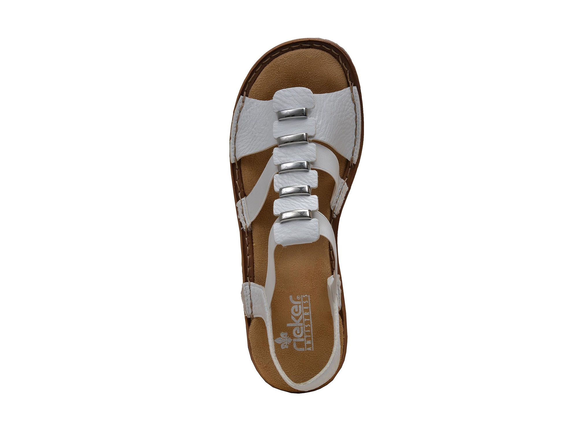 detail Dámská obuv RIEKER br 62850 80 WEISS ... 635bf82f89