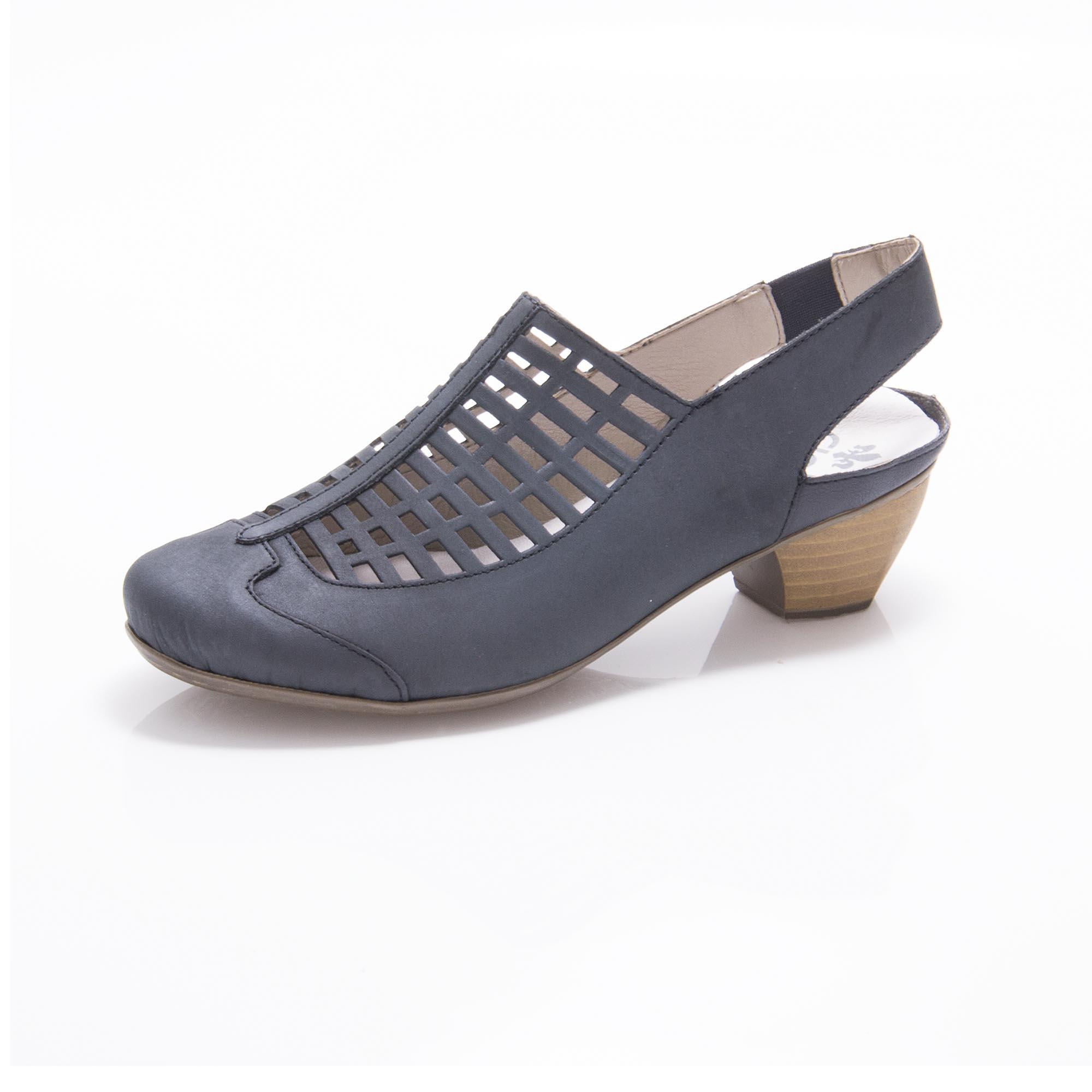 Dámská obuv RIEKER41731-14 BLAU F S 9  f4a032000d
