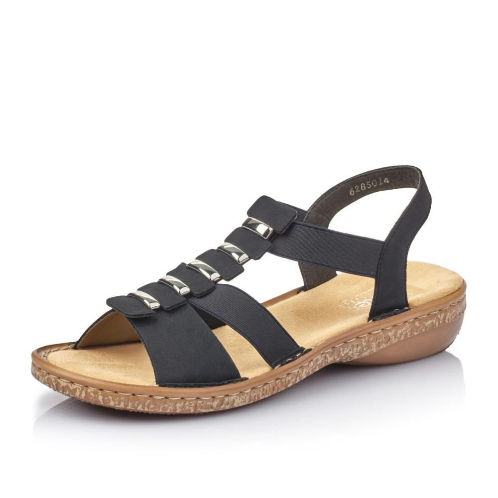 Dámská obuv RIEKER62850-14 BLAU F S 9  424293f5c5