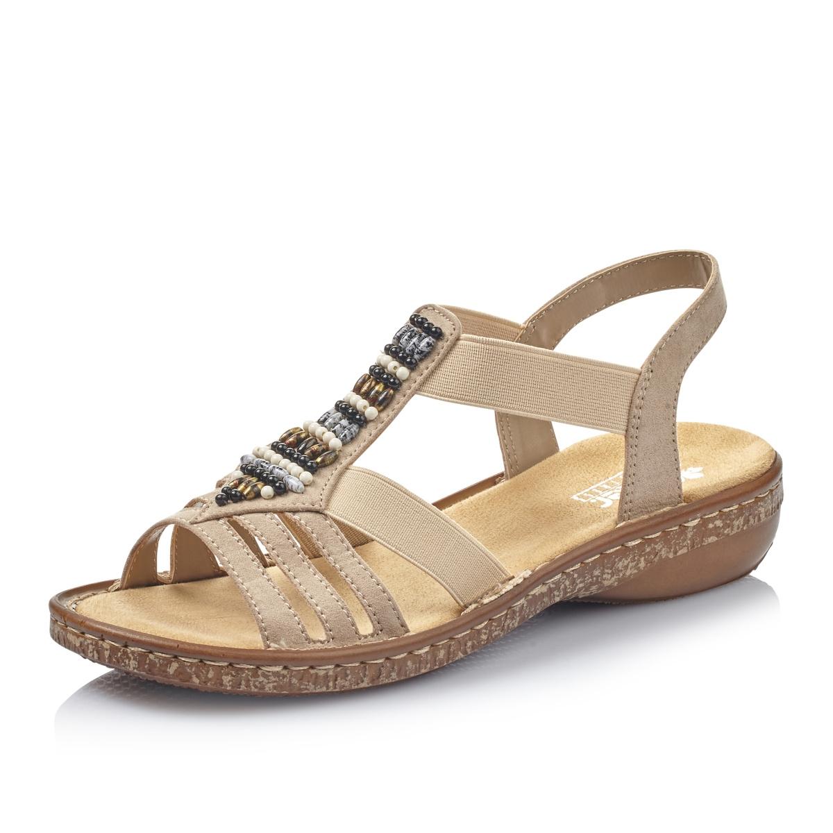 82c1c97f70f Dámská obuv RIEKER62851-60 BEIGE F S 9