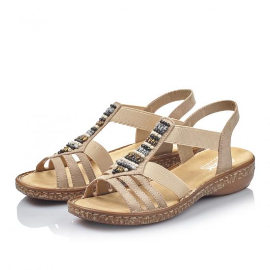 0bb4a17ea7b detail Dámská obuv RIEKER br 62851-60 BEIGE ...