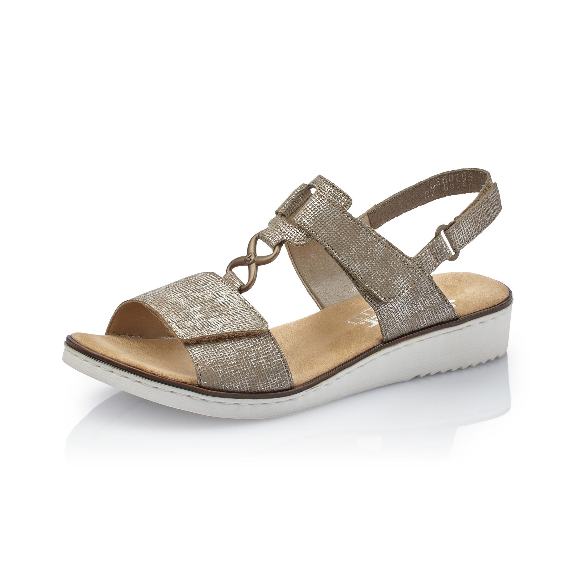 f8c4f835770 Dámská obuv RIEKER63687-64 BEIGE F S 9