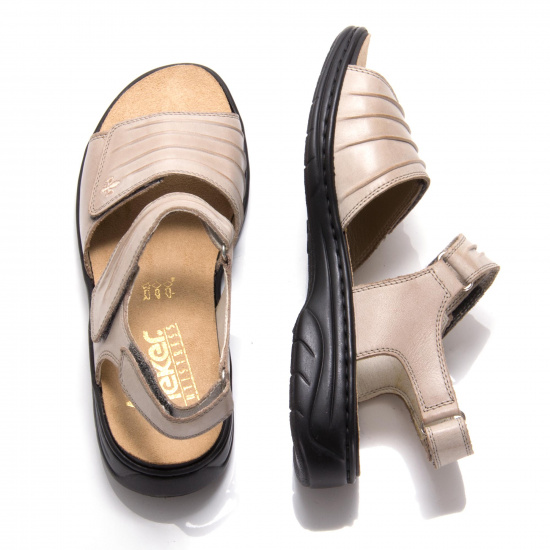detail Dámská obuv RIEKER 64560-42 GRAU F S 9 0557c5607f4
