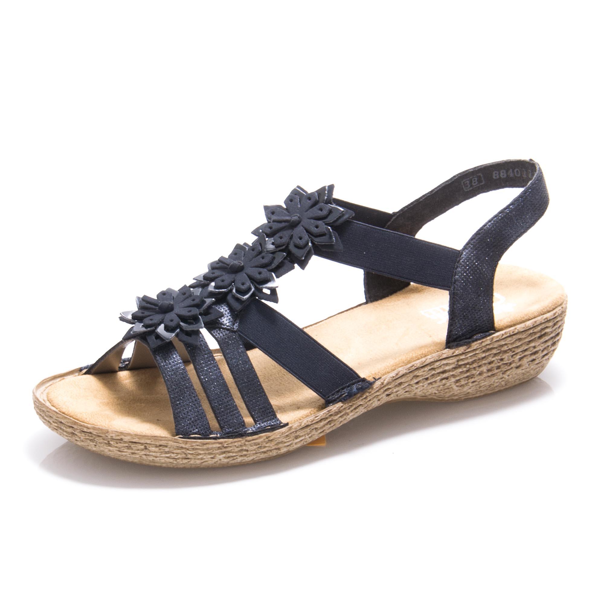 Dámská obuv RIEKER 65858-14 BLAU F S 9  e4874307b9