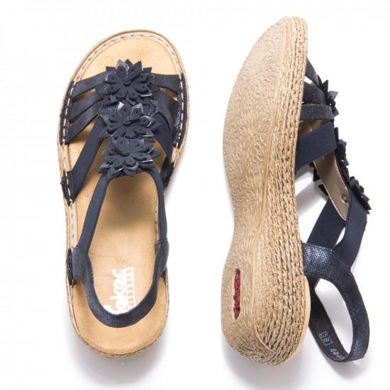 detail Dámská obuv RIEKER 65858-14 BLAU F S 9 041d298a0e