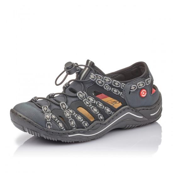 detail Dámská obuv RIEKER br L0577-15 BLAU KOMBI F S 9 d0fd5e31d8