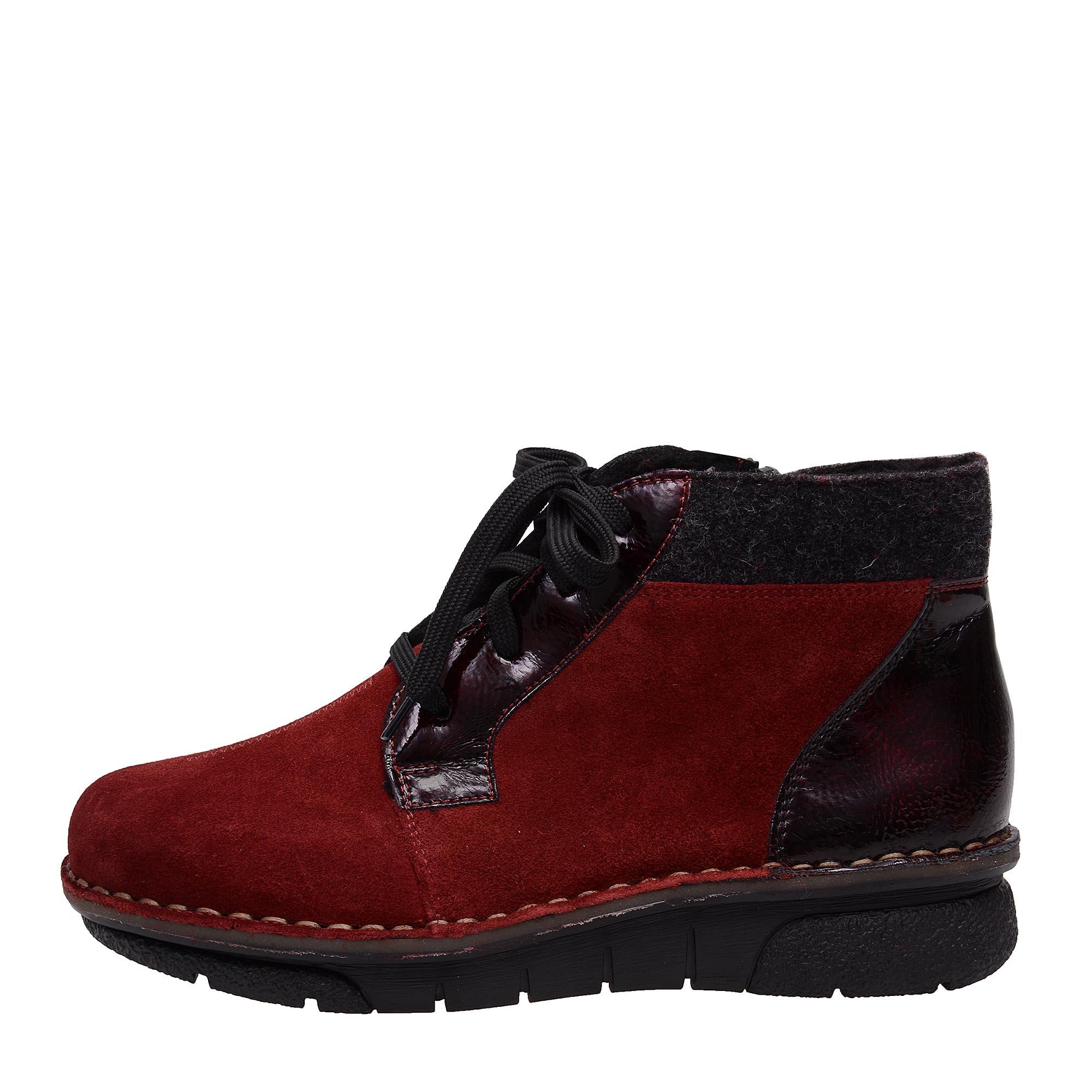 8bec10603e8f detail Dámská obuv RIEKER 73310 35 ROT KOMBI H W 6