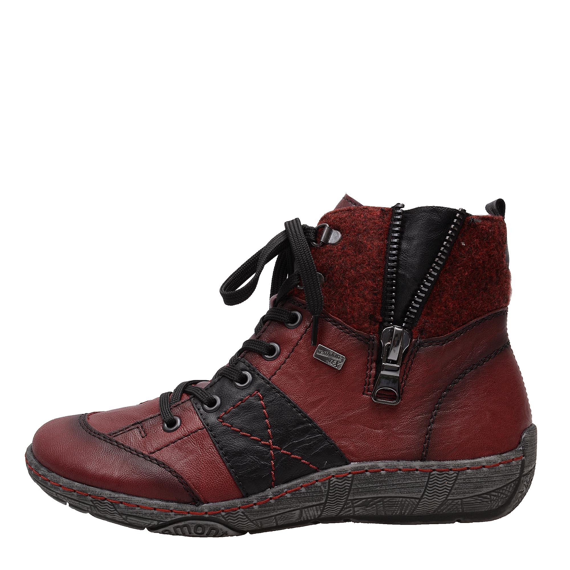 7da26f577506 detail Dámská obuv RIEKER - REMONTE br D3891 35 ROT KOMBI H