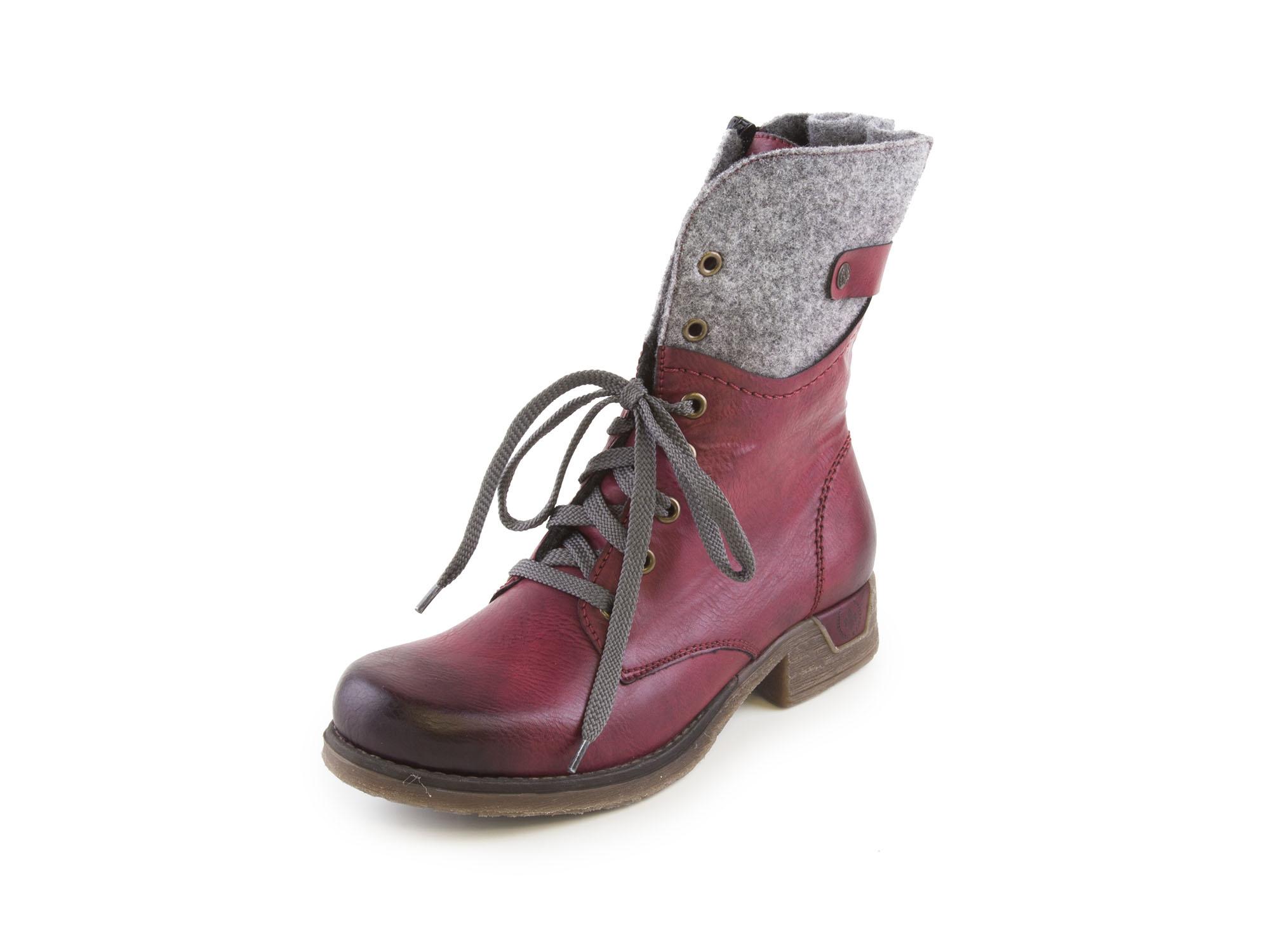 425d92bb4358 detail Dámská obuv RIEKER br 79604 36 ROT KOMBI H W 7