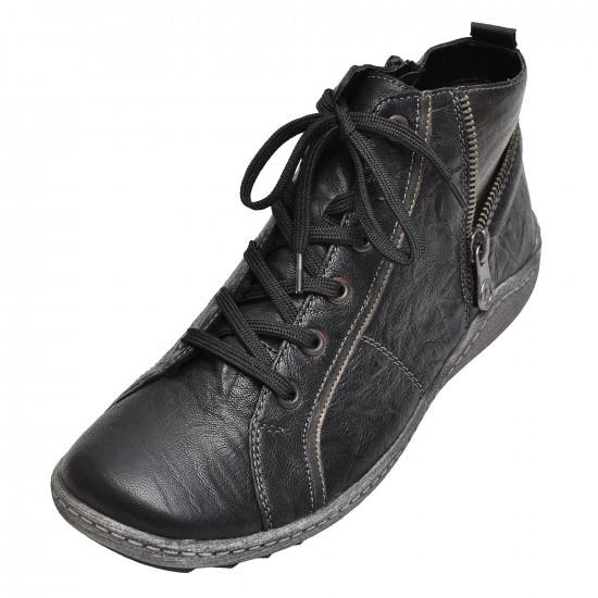 detail Dámská obuv RIEKER - REMONTE R1472 01 SCHWARZ KOMBI H W 8 65fbc797f87