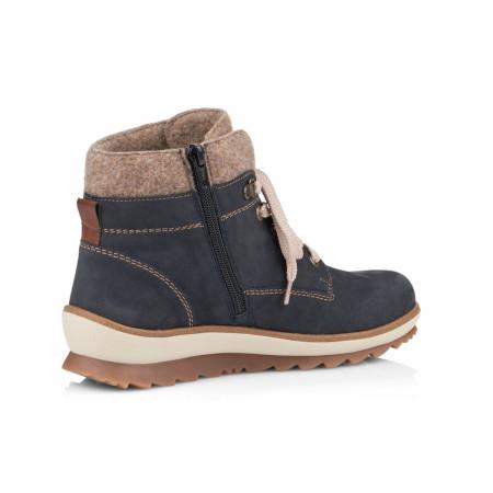 2689fb8b1eb detail Dámská obuv RIEKER - REMONTE R4370 14 BLAU KOMBI H W 8