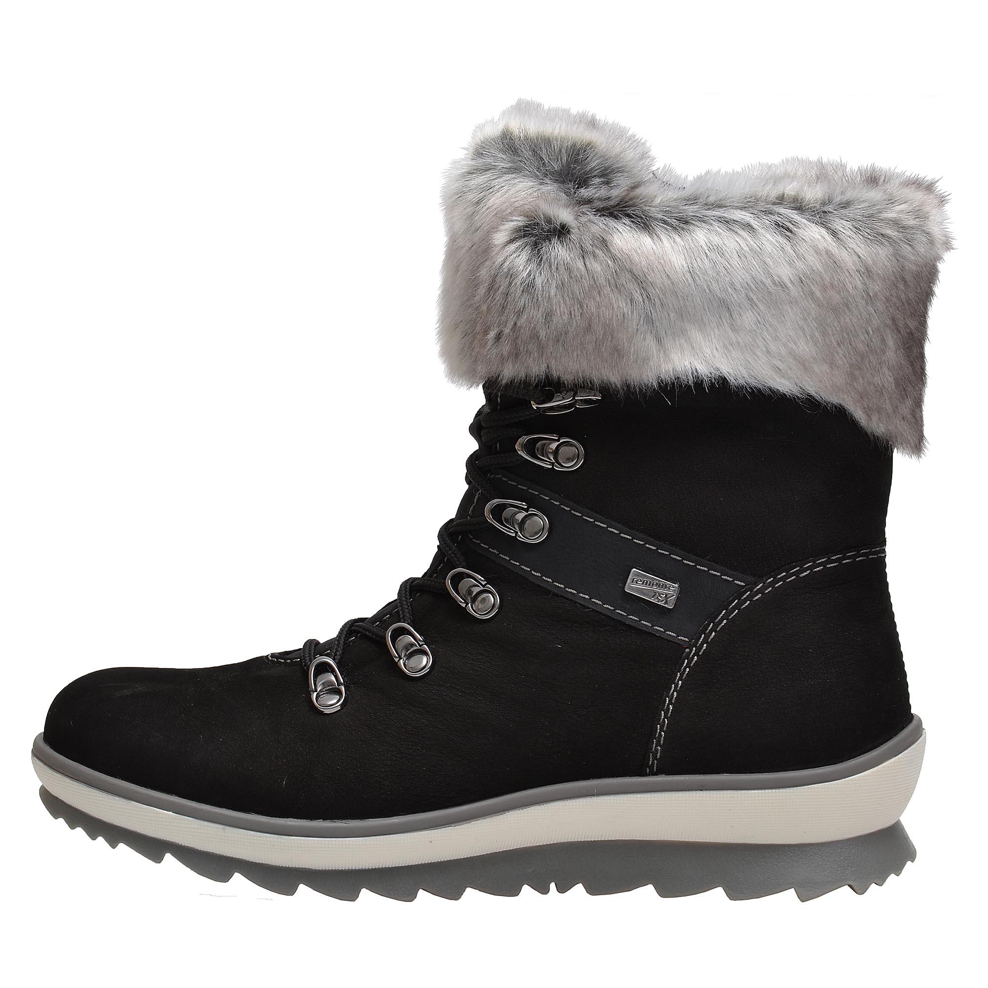 1c4700695382 detail Dámská obuv RIEKER - REMONTE br R4382 02 SCHWARZ KOMBI H
