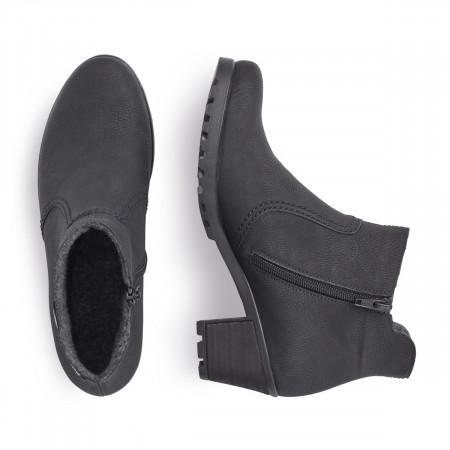 detail Dámská obuv RIEKER Y8062 00 SCHWARZ H W 8 e1b06a75ab