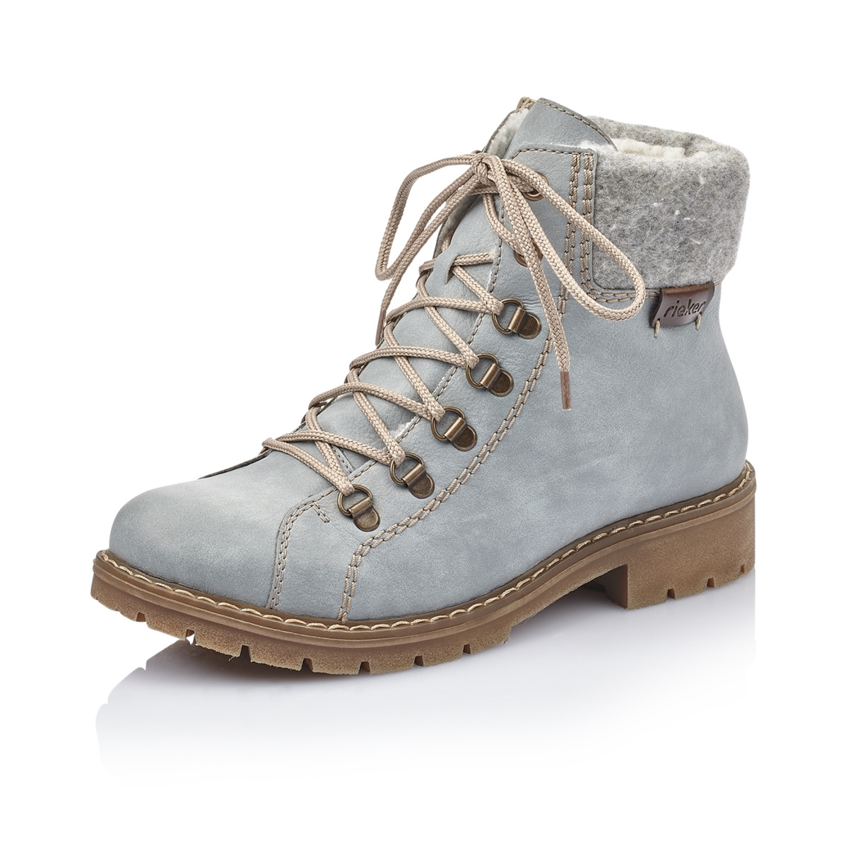 deb2bf4aa0 detail Dámská obuv RIEKER Y9142 10 BLAU KOMBI H W 8