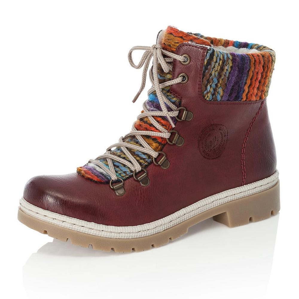 Dámská obuv RIEKERY9432 35 ROT KOMBI H W 8  03e961e127