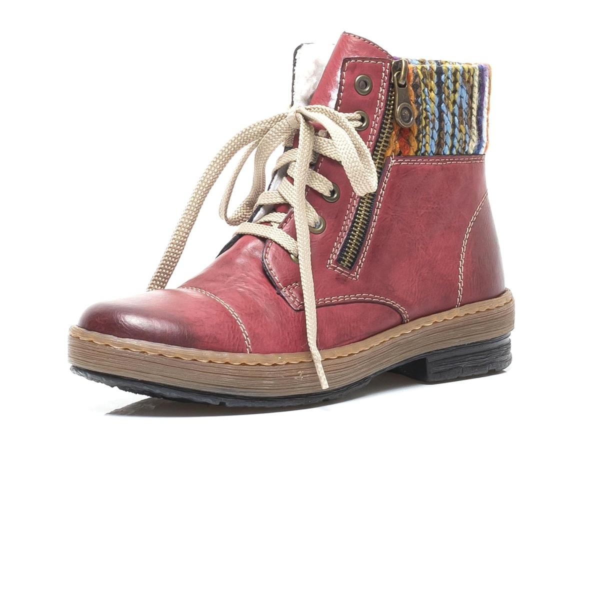 Dámská obuv RIEKERZ6721 35 ROT KOMBI H W 8  36a7a8cb2d