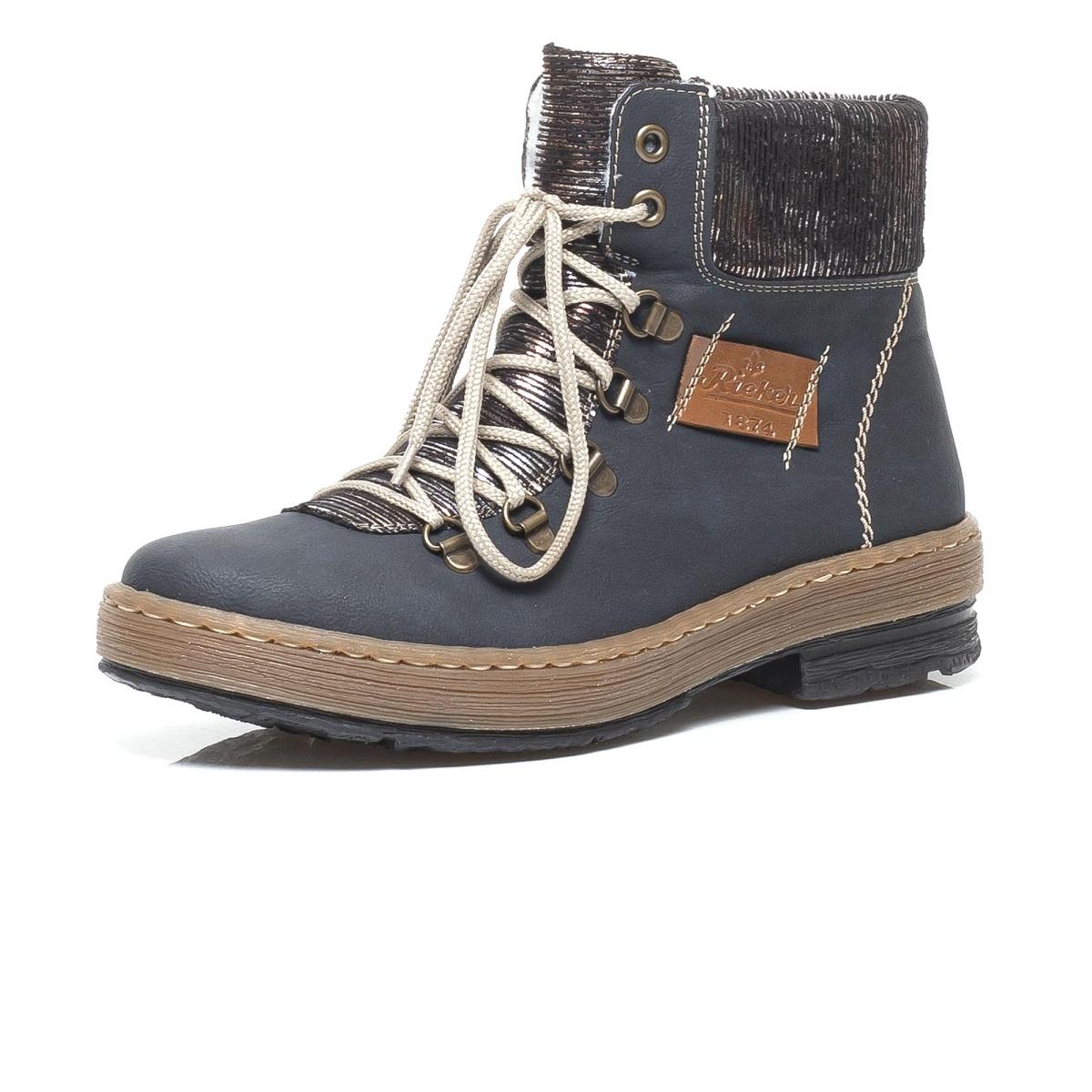 8860ca69e1 detail Dámská obuv RIEKER Z6743 14 BLAU KOMBI H W 8