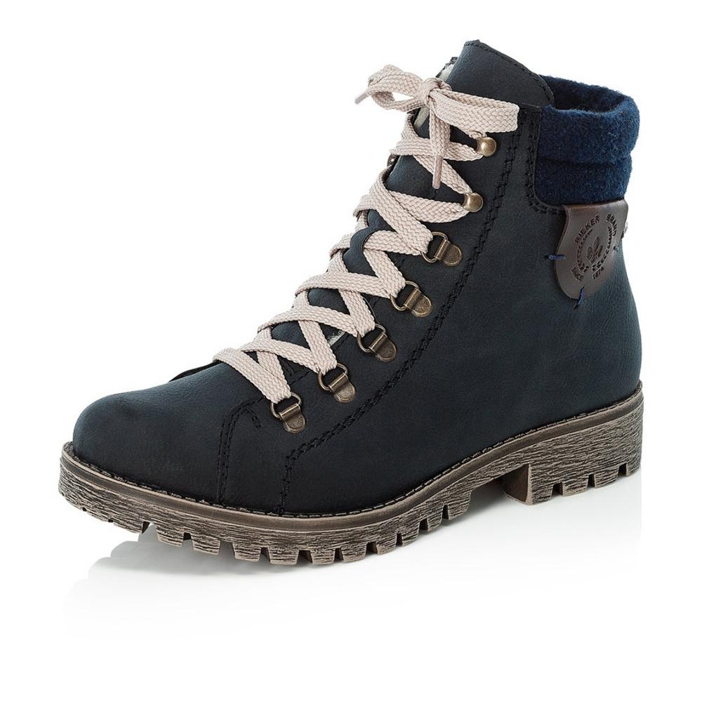c0a6f7e72f detail Dámská obuv RIEKER 785F8 14 BLAU KOMBI H W 8